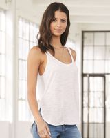 BELLA + CANVAS Women's Flowy Tank with Side Slit 8802