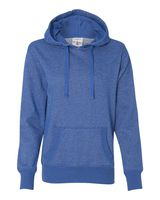 J. America Women's Glitter French Terry Hooded Pullover 8860