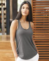 Alternative Women's Satin Jersey Shirttail Tank 4031