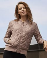 Weatherproof Women's Heat Last Quilted Packable Bomber W21752