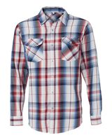 Burnside Long Sleeve Plaid Shirt 8202
