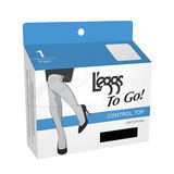 L'eggs To Go Sheer Control Top Pantyhose 15201