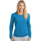Hanes Women's Long-Sleeve Crewneck T-Shirt O9133