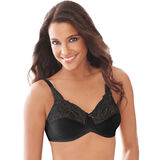 Lilyette by Bali Tailored Minimizer Bra With Lace Trim 0428