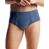 Hanes Men's TAGLESS No Ride Up Briefs with ComfortSoft Waistband 6-Pk 7820N6