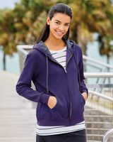 Fruit of the Loom Women's Sofspun® Full-Zip Hooded Sweatshirt LSF73R
