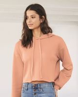 Bella + Canvas Women's Cropped Fleece Hoodie 7502