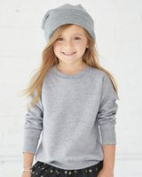 Rabbit Skins Toddler Fleece Crewnneck Sweatshirt 3317