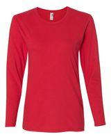 Anvil Women's Lightweight Ringspun Long Sleeve T-Shirt 884L
