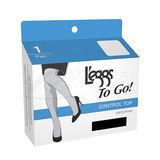 L'eggs To Go Sheer Control Top Pantyhose 15201
