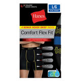 Hanes Men's Comfort Flex Fit® Breathable Mesh Boxer Briefs 4-Pack (includes 1 Free Bonus Boxer Brief) CFFSP4