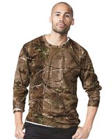 Code Five Adult Realtree® Camo Long Sleeve Tee 3981