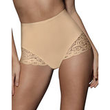 Bali Brief with Lace Firm Control 2-Pack 8054