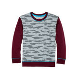 Hanes Boys' Camo Fleece Colorblock Sweatshirt D277