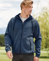 Weatherproof Heat Last Fleece Tech Hooded Full-Zip Sweatshirt 18700