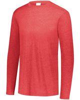 Augusta Sportswear Triblend Long Sleeve Crewneck T-Shirt 3075