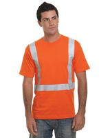 Bayside USA Made High Visibility Short Sleeve T-Shirt 3751