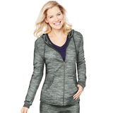 Hanes Womens French Terry Zip Hoodie O4693