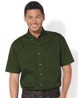 Sierra Pacific Short Sleeve Cotton Twill Shirt 0201