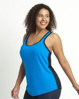 Next Level Women's Ideal Colorblocked Racerback Tank 1534