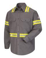 Bulwark Enhanced Visibility Uniform Shirt SLDT