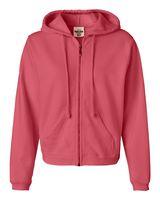 Comfort Colors Women's Garment-Dyed Full-Zip Hooded Sweatshirt 1598