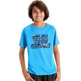 Hanes Sport Boys' Graphic Short Sleeve Tech Tee OD183