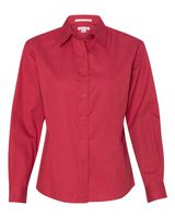 FeatherLite Women's Long Sleeve Stain-Resistant Tapered Twill Shirt 5283