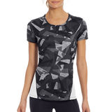 Champion Womens Printed Run Tee Shirt W5055P