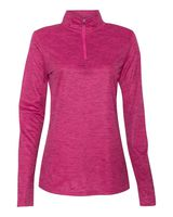 Badger Tonal Blend Women's Quarter-Zip Pullover 4173