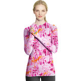 Duofold Womens Thermatrix Print Crew Top KDC3P