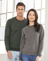 Bella + Canvas Unisex Sponge Fleece Crewneck Sweatshirt 3901