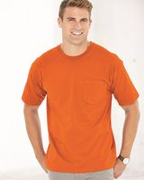 Bayside USA-Made Short Sleeve T-Shirt With a Pocket 5070