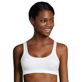 Hanes Cotton Stretch Comfort Flex Fit Wirefree Bra 2-Pack MHH559