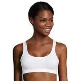 Hanes Cotton Stretch Comfort Flex Fit® Wirefree Bra 2-Pack MHH559