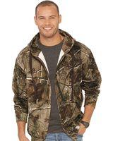 Code Five Adult Realtree Camo Zip Fleece Hoodie 3989