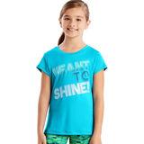 Hanes Sport™ Girls' Speed Dash Performance Tee OK327