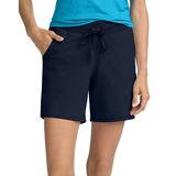 Hanes Women's Jersey Pocket Short O9264