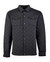 J. America Quilted Jersey Shirt Jac 8889