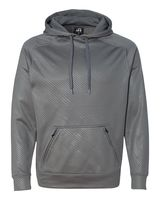 J. America Volt Polyester Hooded Pullover Sweatshirt 8670