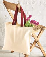 OAD Contrast-Color Handle Tote OAD105