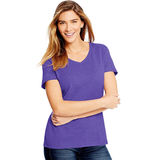 Hanes Women's X-Temp w/Fresh IQ Tri-Blend Performance V-Neck Tee 42VT