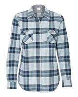 Weatherproof Vintage Women's Brushed Flannel Long Sleeve Shirt W164761