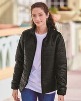 Independent Trading Co. Women's Puffer Jacket EXP200PFZ
