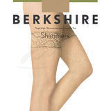 Berkshire 1340Q Queen Size Lace Top Shimmer Thigh High