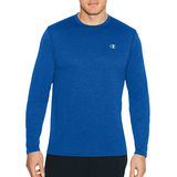 Champion Mens C Vapor Heather Long Sleeve Tee T3760
