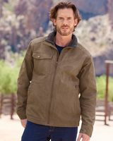 DRI DUCK Endeavor Canyon Cloth™ Canvas Jacket with Sherpa Lining 5037