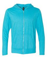 Anvil Triblend Hooded Full-Zip T-Shirt 6759