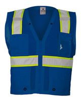 ML Kishigo Enhanced Visibility Multi-Pocket Mesh Vest B100-103