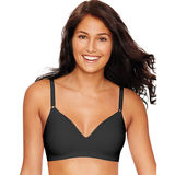 Hanes Ultimate Smooth Inside and Out Foam ComfortFlex Fit® Wirefree Bra HU05